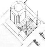 *Nagroda II w konkursie z roku 1936. Budynek projektował Marek Leykam znany z wielu powojennych dokonań