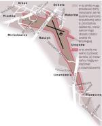 W bezpośrednim oddziaływaniu Portu Lotniczego na obszarze ok. 50 km kw. mieszka 100 tys. osób w stolicy i okolicach