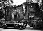 Pałac  Czetwertyńskich.  Rok 1940. Aleje Ujazdowskie 31. Wizyta Hansa Franka