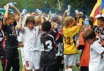 *Tak cieszyli się młodzi piłkarze Polonii ze zwycięstwa w turnieju