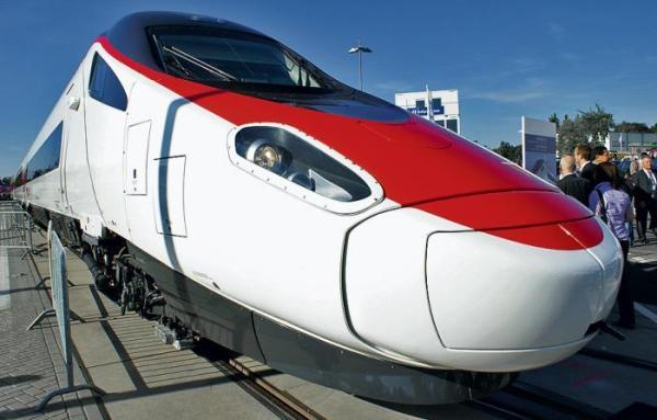 Francuski Alstom pochwalił się pociągiem Pendolino, który produkuje po wykupieniu zakładów Fiat  Ferroviaria. Czy taki pojazd zobaczymy kiedyś na Dworcu Centralnym?
