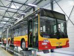Autobusy MAN dla Warszawy w fabryce w Poznaniu