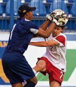 Euzebiusz Smolarek strzelił gola na 1:1.  Ostatnio bramki    dla reprezentacji zdobywał w kwietniu  2009  – cztery  w meczu  z San Marino