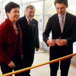 Prezydent Warszawy i burmistrz Włoch przecięli wstęgę