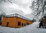 Zimą z budynku będzie można zjeżdżać na sankach