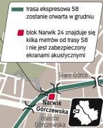Trasa S8: Łącznik z A2. 10,5 km trasy S8 Konotopa – Powązkowska ma być otwarte w grudniu. Inwestycja pochłonęła ponad 2,1 mld zł. W przeliczeniu na kilometr to najdroższa droga w Polsce. GDDKiA obiecuje, że do Euro 2012 do Konotopy dotrze autostrada A2 spod Łodzi. Wtedy S8 stanie się północnym ramieniem obwodnicy rozprowadzającej ruch z A2.