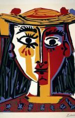"""""""Popiersie kobiety w kapeluszu"""", Pablo Picasso (1962)"""