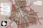 Ministerstwo Infrastruktury i GDDKiA obiecywały, że w 2012 r. będzie gotowa cała obwodnica ekspresowa. Zabraknie tras przez Ursynów i Wesołą. Nie zaczną się prace przy wylotówkach na Kraków i Gdańsk. Rząd z nadzieją patrzy na budżet UE 2014 – 2020.