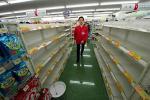 *Ze sklepów w Tokio zniknęły podstawowe produkty – takie jak chleb, woda, a nawet baterie