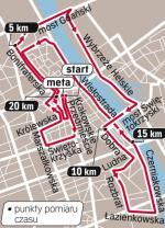 Trasa półmaratonu