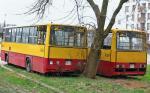 """Ikarusy 260  –tzw. solówki – z 1994 roku. Oba są wyposażone m.in. w automatyczne skrzynie biegów i sprężarki, dzięki czemu jeździły szybciej. Poszły do kasacji, mimo że zapewniają lepszy komfort jazdy niż starsze o 10 lat """"lewary"""", które wciąż wożą warszawiaków"""