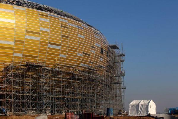 Mecz Polska - Niemcy na Stadionie Narodowym w Warszawie jest zagrożony z powodu opóźnienia w budowie