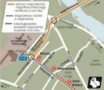 Trasa Mostu Północnego ma dotrzeć w rejon stacji Młociny w tym roku. Na drugą jezdnię ul. Kasprowicza nad stacją Wawrzyszew poczekamy co najmniej do połowy przyszłego roku. Zjeżdżający z mostu Północnego utkną w korku.