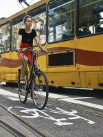 Kontrapasy ułatwiają rowerzystom poruszanie się po mieście
