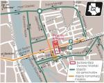 W weekend rusza budowa drugiej linii metra na Pradze. Dla kierowców nastanie trudny czas. Autem lepiej nie wjeżdżać w ten rejon miasta. Zamknięta dla ruchu będzie Trasa W-Z. Lepiej korzystać z komunikacji miejskiej. Tramwaje pojadą objazdem.