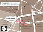 Odcinek między pętlą autobusową a granicą miasta to ostatni wąski fragment ul. Górczewskiej. W miejscu drugiej jezdni stoją domy. Właściciela jednego z nich szuka Interpol.