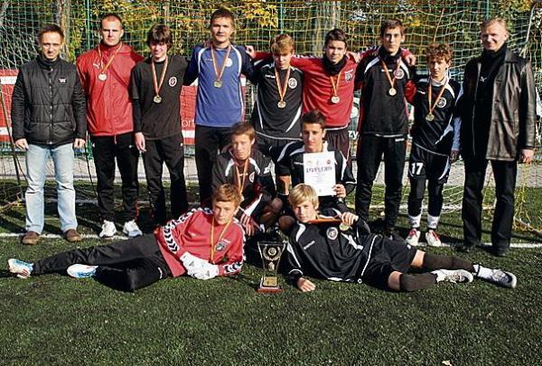Chłopcy z Gimnazjum nr 35 zdobyli medal po sześciu latach