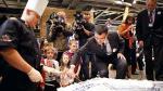 Urodzinowy tort, ważący 120 kg, piekło czterech cukierników