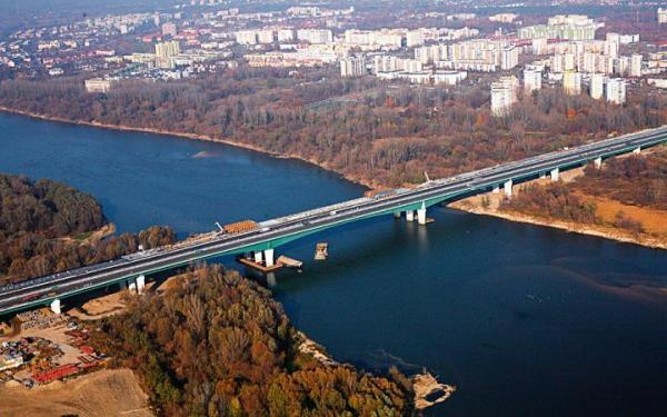 Most Północny z lotu ptaka prezentuje się imponująco. Otwarcie dopiero wiosną przyszłego roku