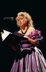 Nina Nowak wystąpiła wczoraj  w teatrze Rampa