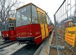 Wyremontowaną al.Zieleniecką tramwaje pojechały 2,5 miesiąca po terminie, ale to wciąż wielki plac budowy