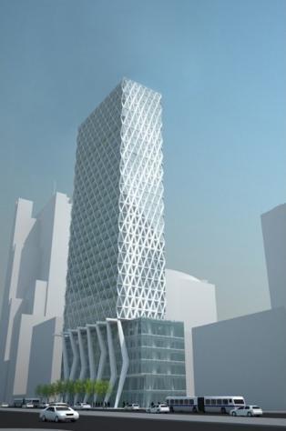 Wieża Echo Investment, al. Jana Pawła II
