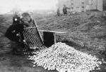 Na meczu inauguracyjnym stadionu Skry były tłumy. W 1941 r. szmuglowano tędy żywność do getta, a potem był