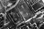 Rzadki widok z góry – Polonia ma już swój stadion. Po 1944 r. będzie tu tylko klepisko