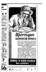 Gazetowe reklamy z drugiej połowy lat 30. bywały dyskusyjne, więc czym się dziś oburzać...