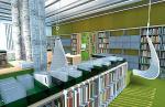 W bibliotece będzie można czytać książki i uprawiać warzywa