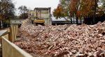 Koszary zostały wyburzone  w ubiegłym roku