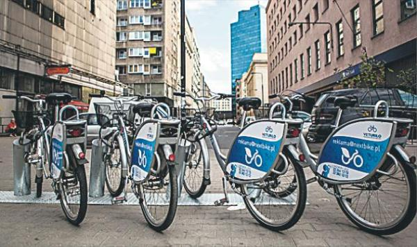 Na wiosnę będzie można wypożyczyć 2,2 tys. rowerów