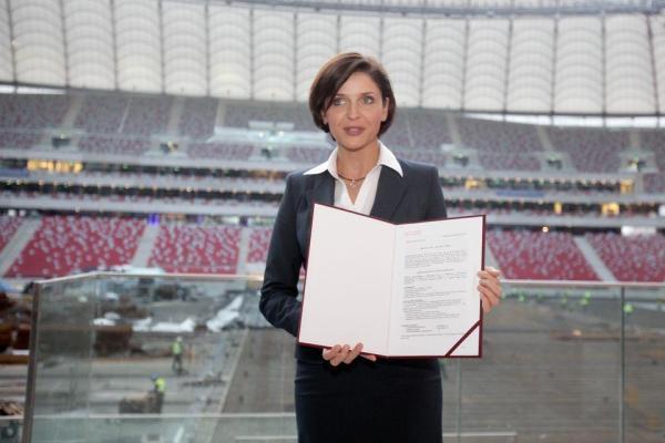 Minister Mucha z pozwoleniem na użytkowanie Stadionu Narodowego