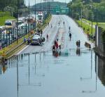 Na wyremontowanie zalanej niedawno Trasy AK wykonawca będzie miał 27 miesięcy