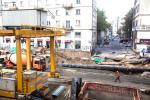 Budowa metra na ulicy Świętokrzyskiej
