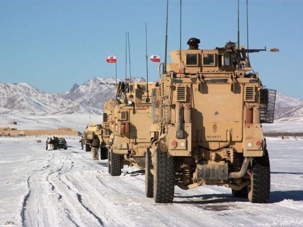 Polski patrol w Afganistanie