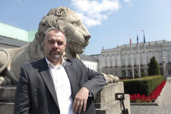 Poseł Jacek Sasin, jest kandydatem PiS na prezydenta stolicy