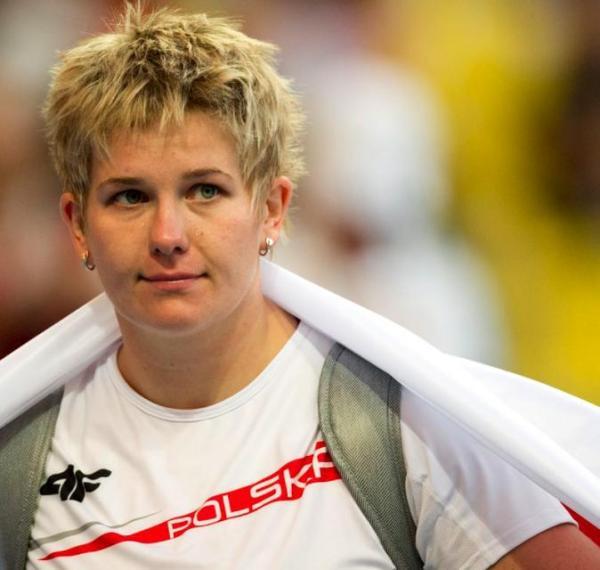 Anita Włodarczyk, laureatka ubiegłorocznego plebiscytu