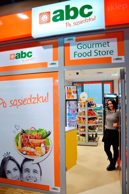 Minimarket na lotnisku w Modlinie