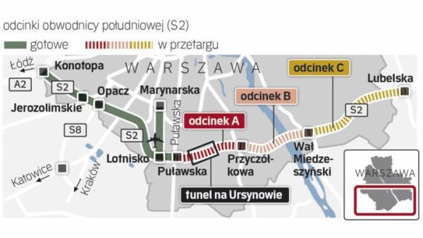 Obwodnica wydłuży sieć szybkich dróg Mazowsza