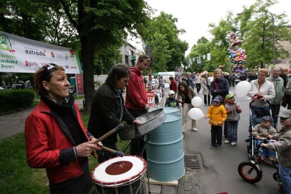 Święto Saskiej Kępy w 2008 r.