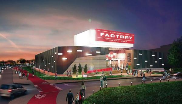 Factory Warszawa Ursus po ukończonej jesienią rozbudowie powiększy się o6 tys. mkw. i będzie oferować wsumie prawie  20 tys. mkw. powierzchni najmu