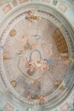 Freski na suficie w Pałacu