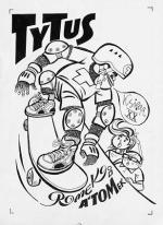 """Okładka do """"Tytusa, Romka i A'Tomka, księga XX. Druga wyprawa na Wyspy Nonsensu"""" Papcia Chmiela; cena wywoławcza 14 tys. zł, cena wylicytowana 75 tys. zł (z opłatą aukcyjną 88,5 tys. zł)"""