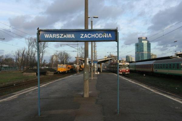 Peron dworca zachodniego