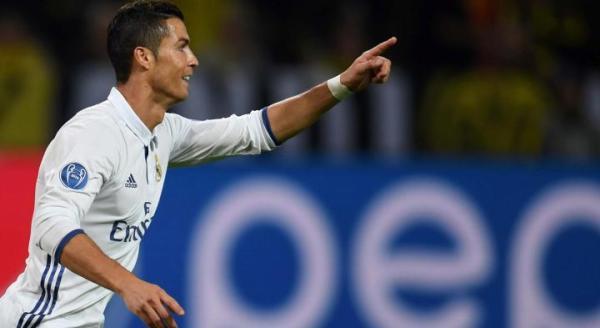 Cristiano Ronaldo jest najlepszym strzelcem w historii Ligi Mistrzów. Do 100 trafień brakuje mu już tylko pięciu goli.