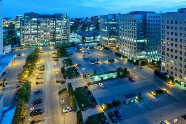 Największy kompleks biurowy w Polsce to Empark Mokotów Business Park (ponad 115 tys. mkw.)