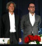 Dariusz Mioduski i Bogusław Leśnodorski, gdy jeszcze grali w jednym zespole.