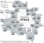 32 okalające Warszawę gminy liczą 859 tys. mieszkańców, stolica – 1,7 mln, razem będzie ich ponad  2 mln. To kolejny pomysł po ograniczeniu liczby kadencji na przejęcie władzy w stolicy i gminach