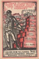 150 zł kosztuje afisz wyborczy z 1922 r.